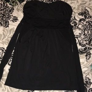 Charlotte Russe strapless dress with pockets